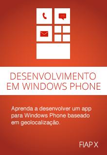 Desenvolvimento em Windows Phone